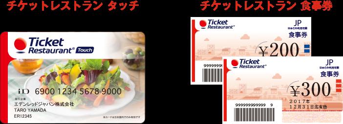 チケットレストラン食事券 & チケットレストランTouch