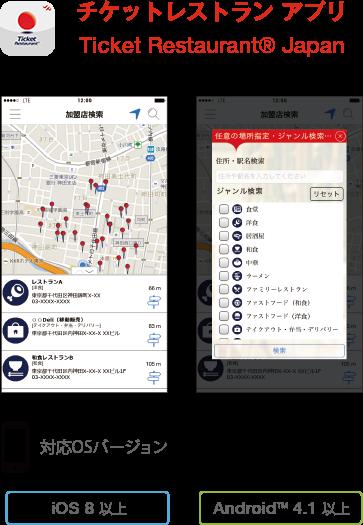 チケットレストラン アプリ(近日公開予定)