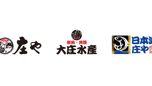 「庄や」「日本海庄や」「大庄水産」401店舗加盟